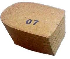 Каблуки резиновые и деревянные (мазонитовые)