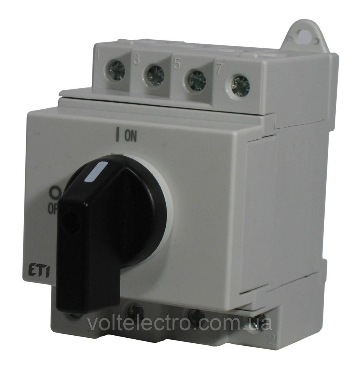 Выключатель нагрузки  LS16 SMA A4