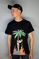 Мужская футболка в стиле Palm Angels | Лучшее качество!, фото 1
