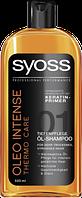 Syoss Shampoo Oleo 21 Intense Care - Шампунь с маслами + термозащита, 500 мл