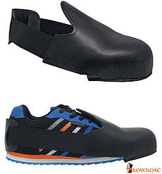 Накладка защитная для рабочей обуви с металлическим подноском (защита для обуви) BRCZ-TOE B