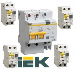 ІЕК Диференційні автоматичні вимикачі