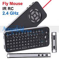 Русский 2.4Ghz Mini Wireless Fly Air Mouse обучаемый пульт , фото 1
