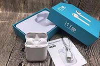 🔝 Bluetooth гарнитура для телефона | беспроводные (i11 TWS) блютуз наушники с кейсом