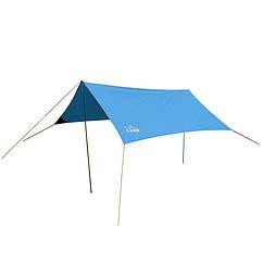 Тент туристичний, пляжний тент GreenCamp, синій, GC0281B + Подарунок