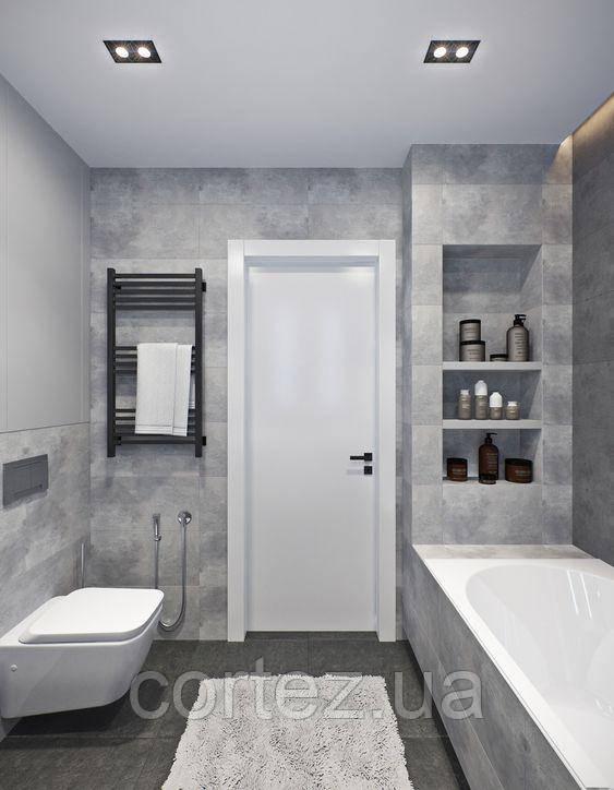 Двері в ванну