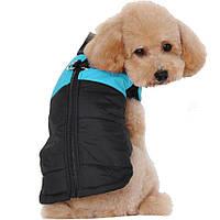 Жилетка для собак «Спорт», голубой, одежда для собак мелких, средних, крупных пород, фото 1