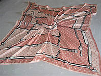 Платок Louis Vuitton тяжёлый шёлк 100%