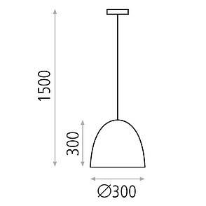 Подвесной светильник ENON 3686/30 (art.C36861GR), фото 2