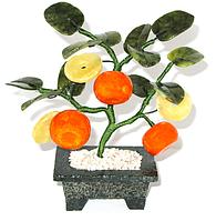 Мандариновое дерево 3 мандарина+3 монеты