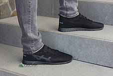 Кроссовки мужские сетка чорние Львовское производство, фото 3