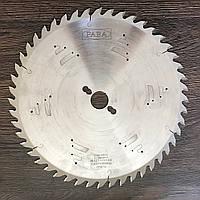 Заточка дисковых пил по массиву