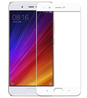 Защитное стекло весь экран Xiaomi Mi 5s face (white)
