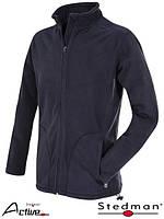 Размер S Зимняя мужская флисовая кофта Stedman SST5030,(original) Германия куртка