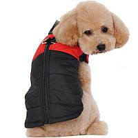 Жилетка для собак «Спорт», красный, одежда для собак мелких, средних, крупных пород