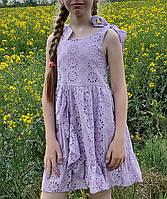 Модное  платье для девочки  код 814  лето , размеры на рост от 116 до 134 возраст от 5 до 9 лет, фото 1