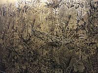 Премиум обои золото на стену дизайнерские Павлины Birds of Paradi Birds of Paradise 465 см х 280 см