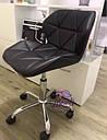 Кресло Стар Нью, мягкое, хром, цвет черный, фото 2