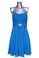 Женское бирюзовое платье Destino