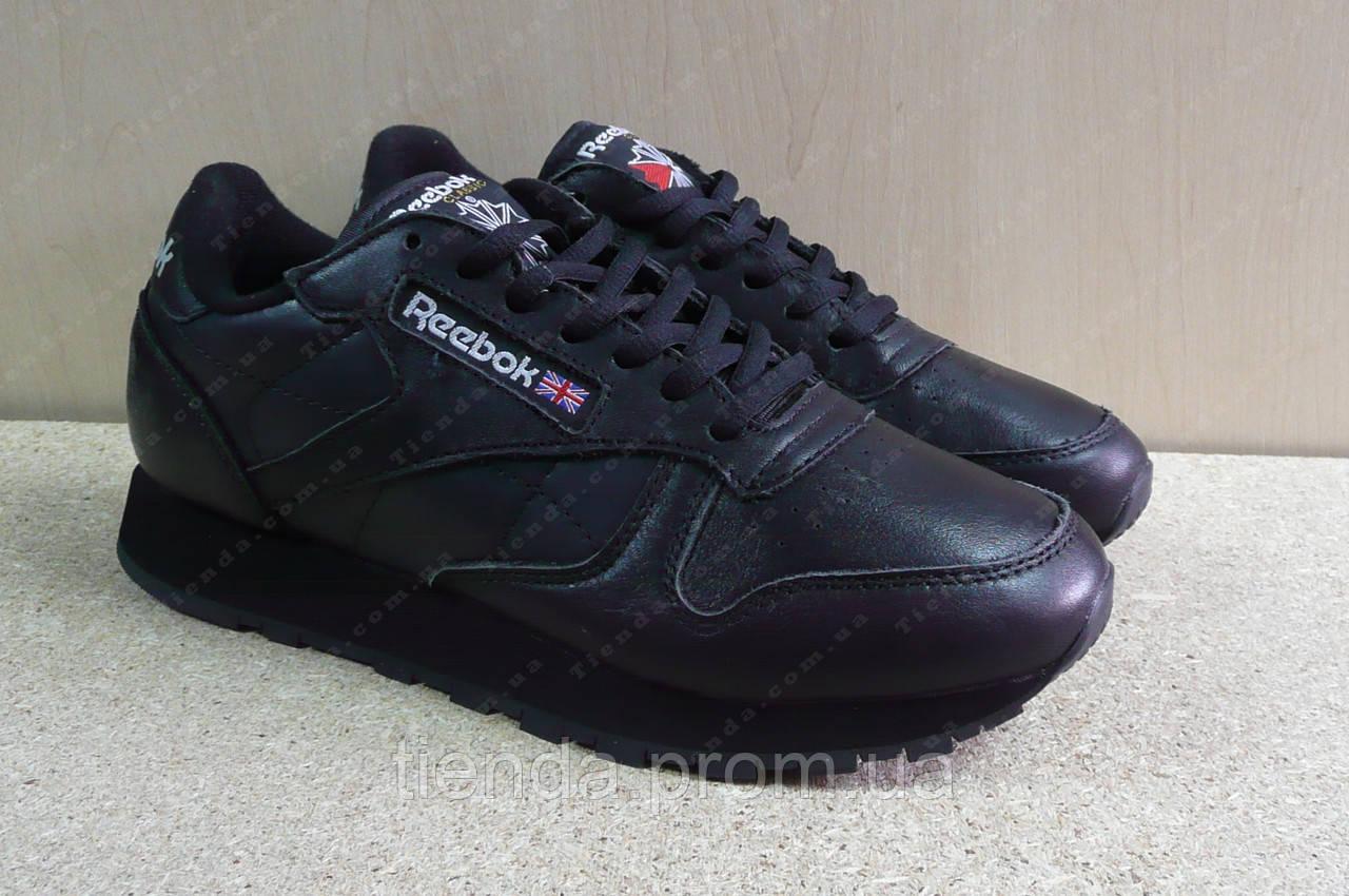 66448be4 Мужские Кроссовки Reebok Classic Leather черные: продажа, цена в ...