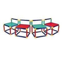 Дитячий стілець Gigo Комплект з 4-х стільців (3599)