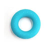 Эспандер кистевой кольцо силиконовый CF88 Голубой