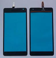 Microsoft Lumia 535 CT2S1973FPC сенсорний екран, тачскрін чорний