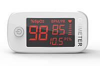 Пульсоксиметр Fingertip Pulse Oximeter YM101 с 1,5-дюймовым экраном цвет белый, фото 1