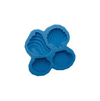 Силиконовый молд Морские ракушки, фото 1