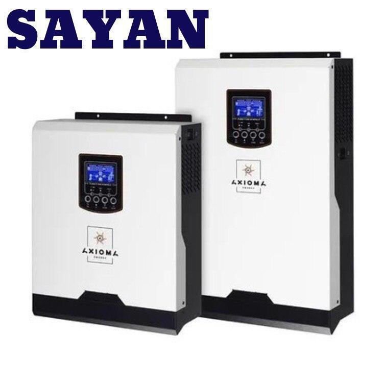 Гибридный ИБП 3000Вт, 24В + ШИМ контроллер 50А, ІSPWM 3000, AXIOMA energy
