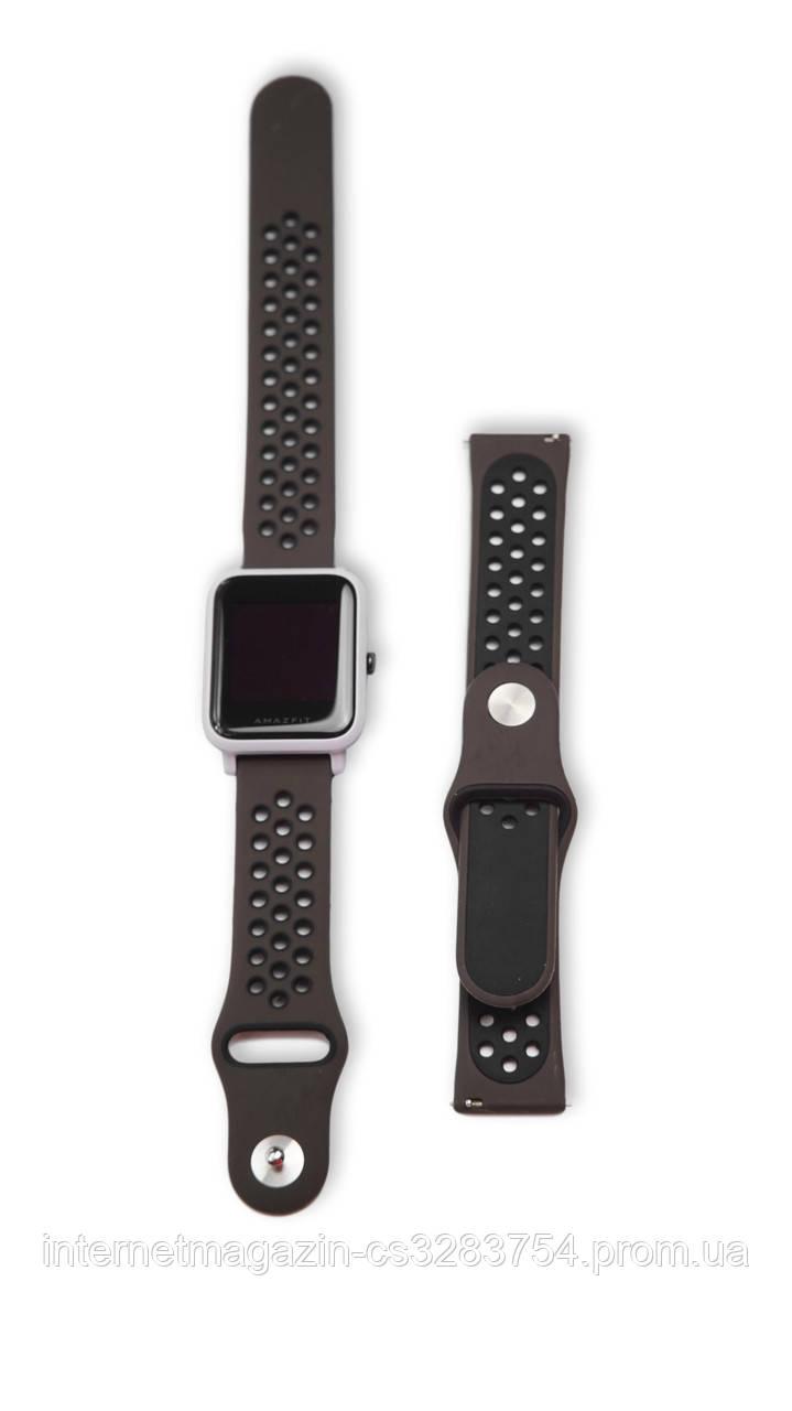 Ремешок BeWatch для смарт-часов Xiaomi amazfit BIP Коричневый (1010191)