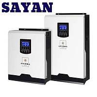 Гибридный ИБП 5000Вт, 48В + ШИМ контроллер 50А,ІSPWM 5000, AXIOMA energy