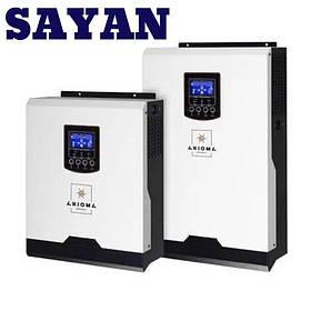 Гибридный ИБП с чистым синусом Axioma energy 5000Вт 48В + ШИМ контроллер ІSPWM 5000 50А для дома