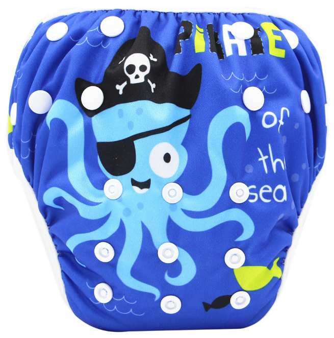 Непромокаемые плавки-подгузники для малышей Осьминожка (110062)