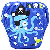 Непромокаемые плавки-подгузники для малышей Осьминожка (110062), фото 1