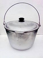 Казан походный алюминиевый литой 10  литров