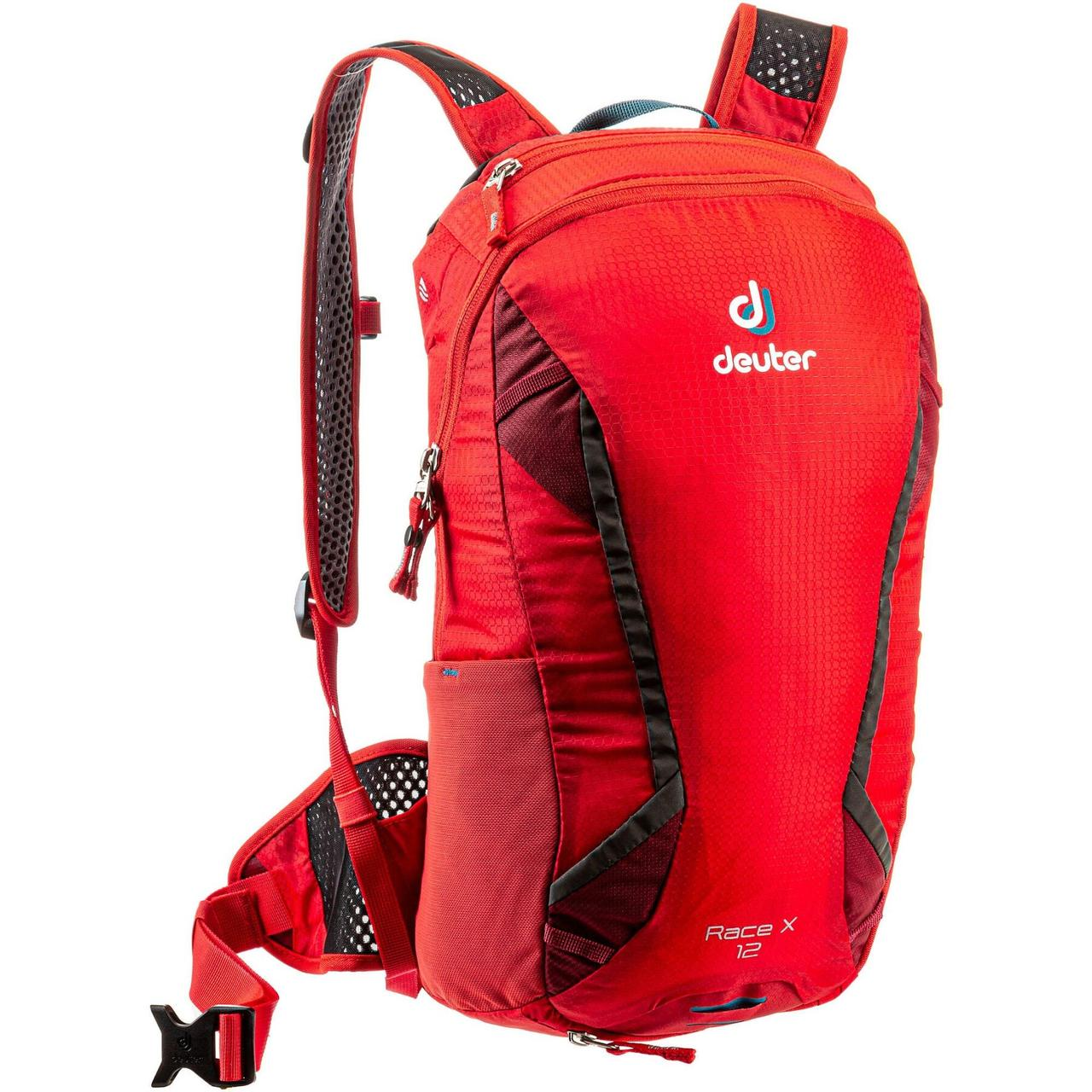Велорюкзак Deuter Race X 12 chili-cranberry (3207118 5557)