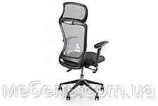 Кресло для врача Barsky BS-02 Style Grey, сеточное кресло, серый, фото 2