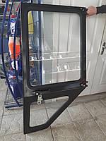 Дверь МТЗ левая большая  кабина УК  в сборе (пр-во МТЗ) 80-6708005-Б