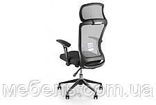 Кресло для работы дома Barsky BS-02 Style Grey, сеточное кресло, серый, фото 3
