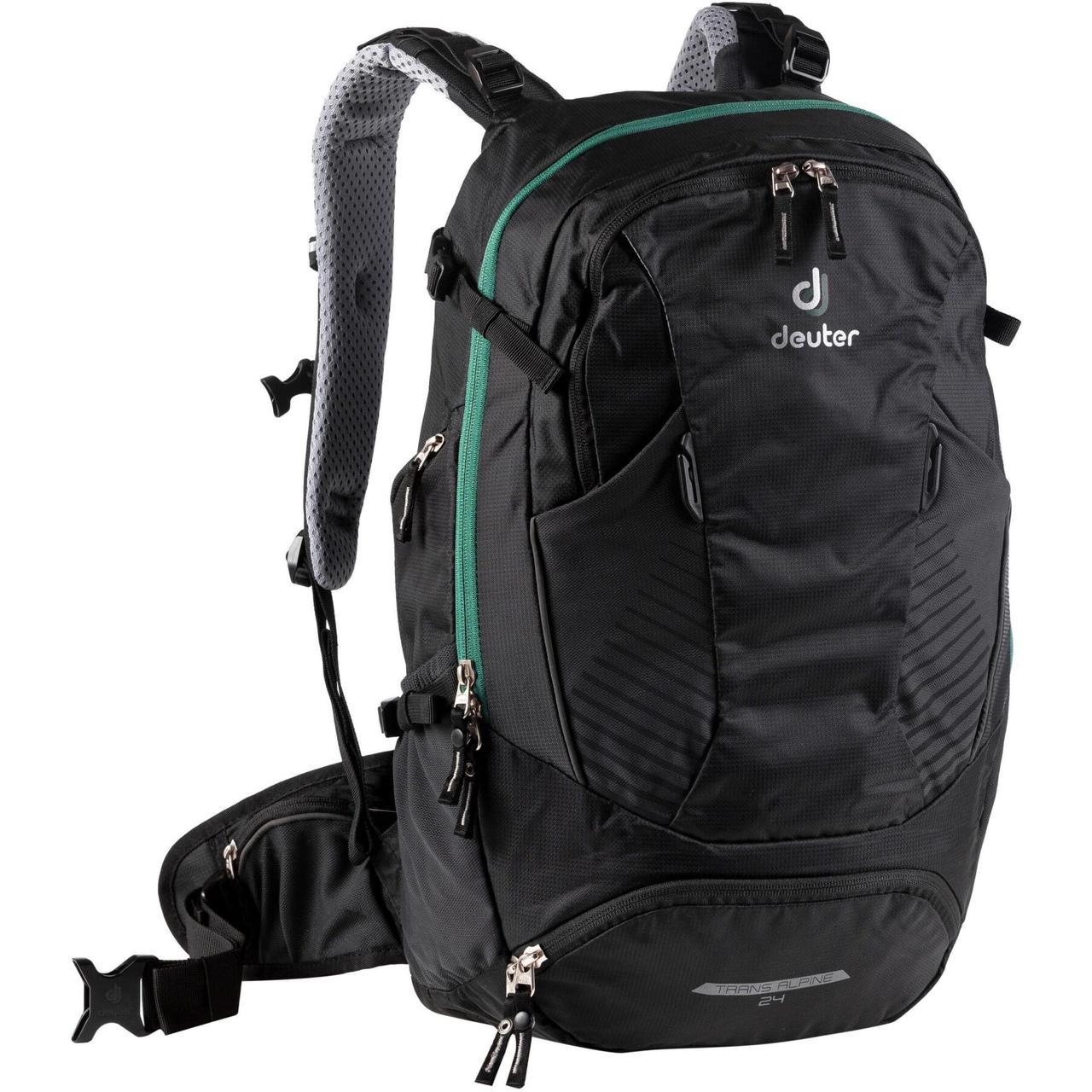 Велорюкзак Deuter Trans Alpine 24 black (3205020 7000)