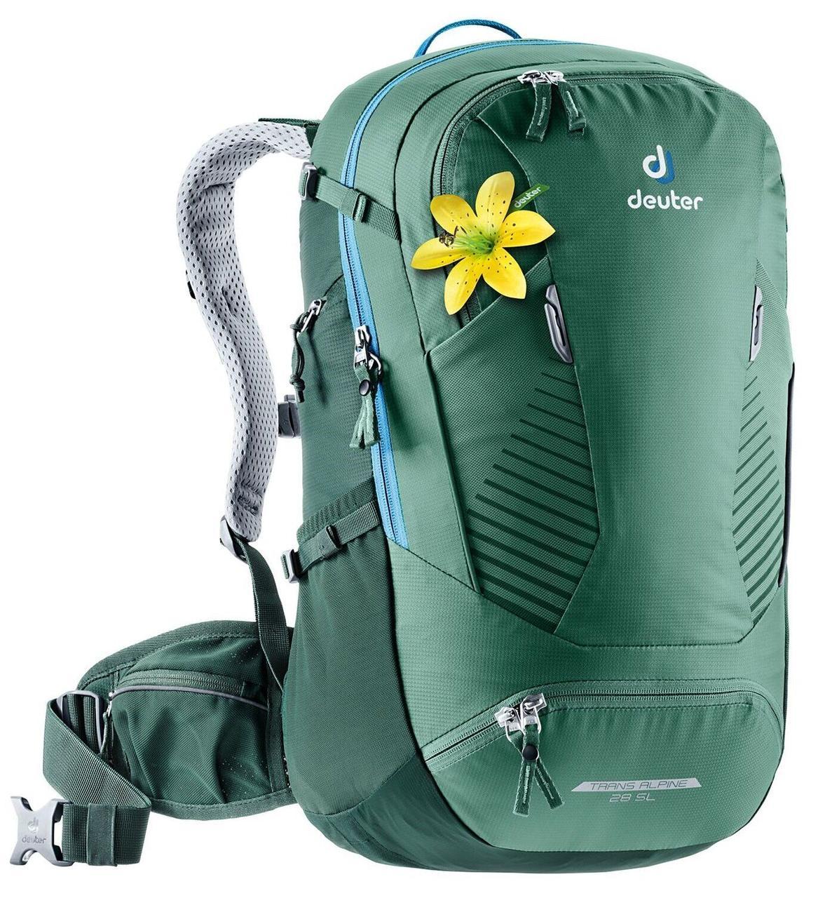 Велорюкзак Deuter Trans Alpine 28 SL seagreen-forest (3205120 2247)