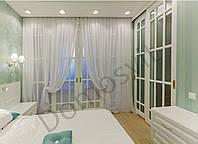 Раздвижные двери не стандарт со стеклом - высота 2800 мм, фото 1