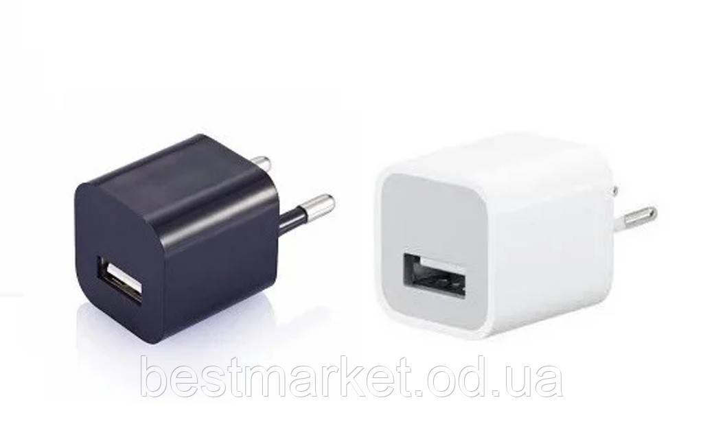 Сетевой Адаптер в Стиле Apple на 1 USB порт