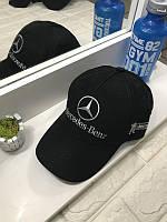 Кепка бейсболка Авто Mercedes-Benz (черная)