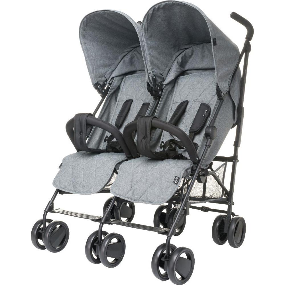 Коляска-трость 4baby Twins Grey