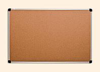 Доска для объявлений пробковая 65*100см.