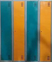 Шкафчики для бассейнов. ШОМ-300-2-2. Металлический шкаф в раздевалку. шафа металева для одягу.