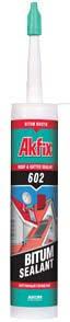 Битумный герметик Akfix 602 310 ml, фото 2