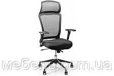 Кресло для врача Barsky BS-03 Style Black, сеточное кресло, черный, фото 2